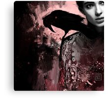 The crow collection I Canvas Print