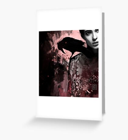 The crow collection I Greeting Card