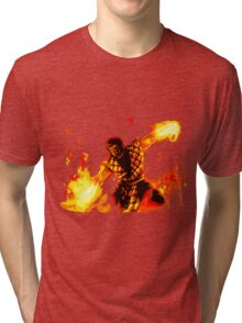 Blazes of Hell Tri-blend T-Shirt