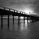Grantville Jetty Sunset by Jim Worrall