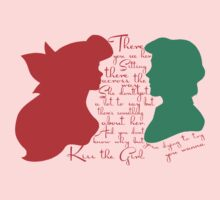 Ariel & Eric Silhouette ~Kiss the girl by sweetsisters