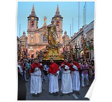 Feast Of St Catherine Procession Poster