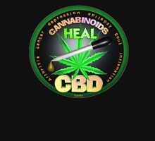 CBD Cannabinoids in Hemp oil Cures  learn truth about use of hemp oil to cure illness and pains. T-Shirt