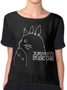 Studio Ghibli Inspired Totoro Chiffon Top