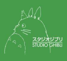 Studio Ghibli Inspired Totoro Kids Tee