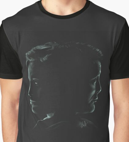 """Hannibal & Will - """"You and I have begun to blur"""" Graphic T-Shirt"""