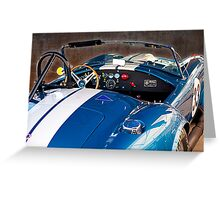 Cobra in the pits Greeting Card