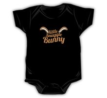 Little Snuggle Bunny rabbit awesome baby design One Piece - Short Sleeve