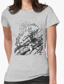 Sun Wukong the Monkey King Womens Fitted T-Shirt