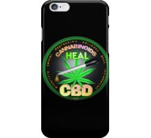 CBD Cannabinoids in Hemp oil Cures  learn truth about use of hemp oil to cure illness and pains. iPhone Case/Skin