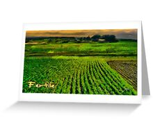 Fertile Greeting Card