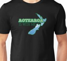 AOTEAROA is with me (New Zealand) Unisex T-Shirt