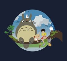 my neighbor totoro Kids Tee