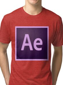 After Effects Icon Tri-blend T-Shirt