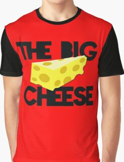 The BIG CHEESE like a boss cheesy humour! Graphic T-Shirt