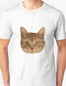 Portrait of cat _2 Unisex T-Shirt