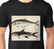 Naturgeschichte in Bildern mit erläuterndem Text E Strack 1820 Lief 4 Fish 062 Unisex T-Shirt
