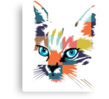 POP ART CAT Canvas Print