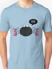 Spider Wearing Heels Unisex T-Shirt