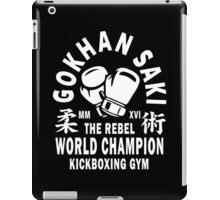 Gokhan Saki Kickboxing Gym iPad Case/Skin