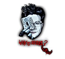 Why so serious? - Mason Verger/Joker Photographic Print