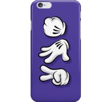 Roshambo Hands iPhone Case/Skin