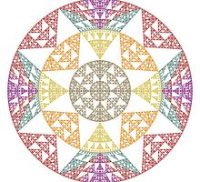 Mandala I by Ross Hilbert