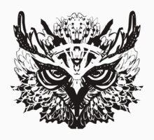 Owl spirit by SkyfishArt