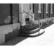 These Old Steps Photographic Print