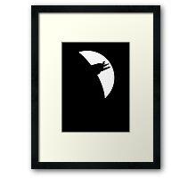 Sulaco Silhouette Framed Print