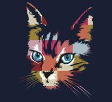 POP ART CAT Kids Tee