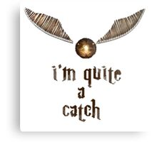 Golden Snitch - Harry Potter Metal Print