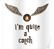 Golden Snitch - Harry Potter Poster