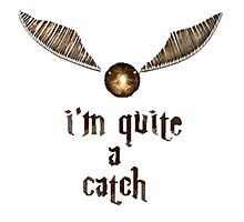 Golden Snitch - Harry Potter Photographic Print
