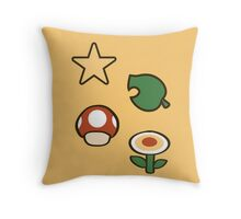 Power Ups! Throw Pillow