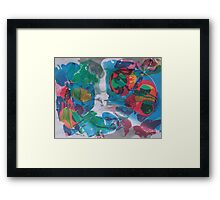 The Sense of Touch Framed Print