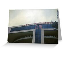 Port Authority Building Greeting Card
