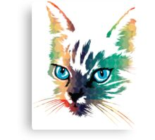 POP ART CAT Canvas Print