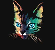 POP ART CAT Womens Fitted T-Shirt