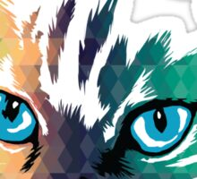 POP ART CAT Sticker