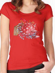 Tea  Women's Fitted Scoop T-Shirt