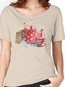 Tea  Women's Relaxed Fit T-Shirt
