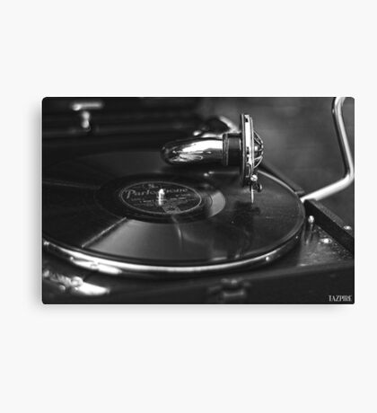 That old time music BW Canvas Print