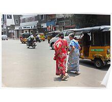 Two Pedestrians Poster