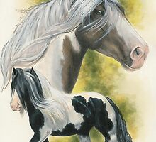Gypsy Vanner by BarbBarcikKeith