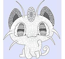 Pokemon Meowth Photographic Print