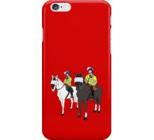 London Metropolitan Horse Cops iPhone Case/Skin