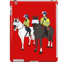 London Metropolitan Horse Cops iPad Case/Skin