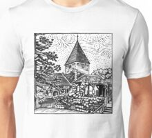 Limpsfield Parish Church, Surrey Unisex T-Shirt
