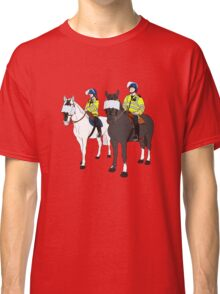 London Metropolitan Horse Cops Classic T-Shirt